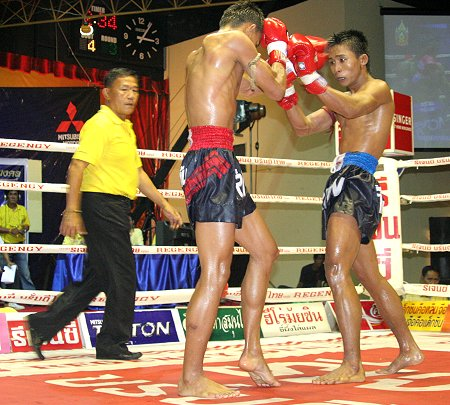 Thai Kick Boxing, as it is sometimes known in the West, is distinctly ...