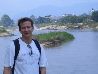 On the river in Chiang Rai