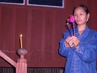 Loy Krathong at Bahn Bong Chang