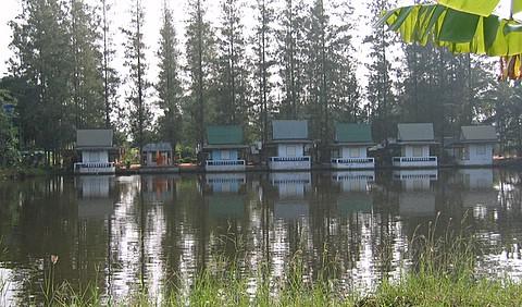 ban ta ban meditation huts