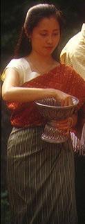 Lao woman