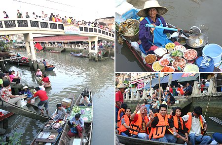 Amphawan Floating Market