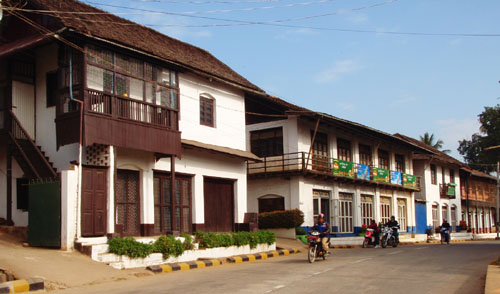 British Colonial Buildings In Shan State