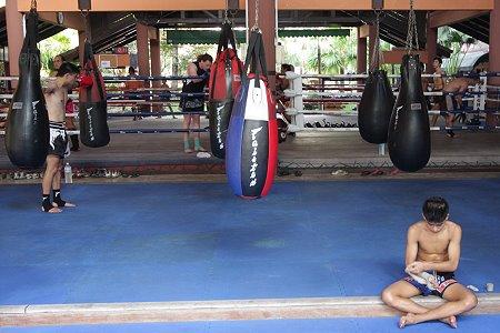 Boxing camp