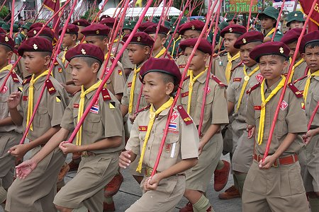 national scout day � thai school life by richard barrow