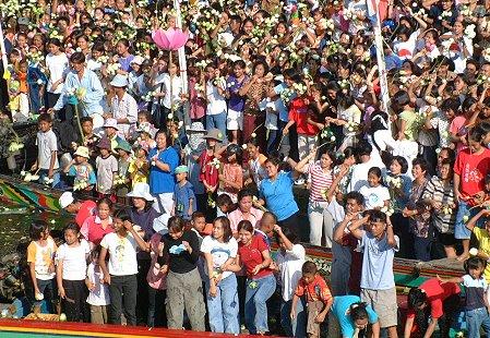 Lotus Throwing Festival
